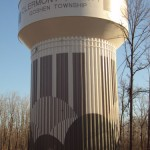 tank painting, water tower, steel, water tank